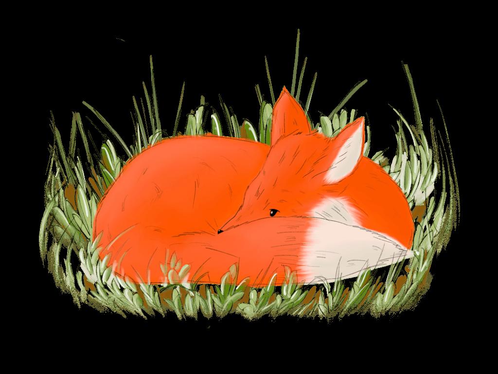 Illustration eines Fuchses, der Gundolf Geniesser heißt