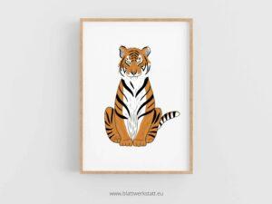 "Tierposter ""Tiger"" ²"
