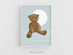 """Poster """"Teddybär"""" ²"""