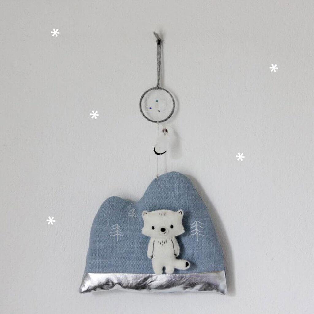 Geschenke zur Geburt_Diana Pfister blatt.werk.statt Illustration + Gestaltung, Regenpanda_traumfaenger