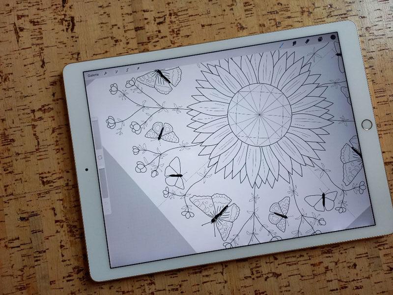 Mandala_12von12_Oktober_Diana-Pfister_blattwerkstatt_Illustration+Gestaltung